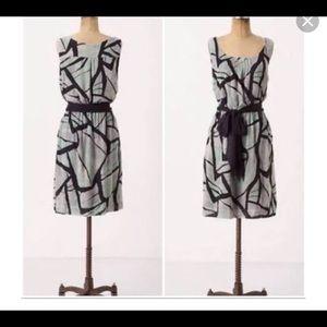 Anthropologie Odille Sz XS Damselfly Dress